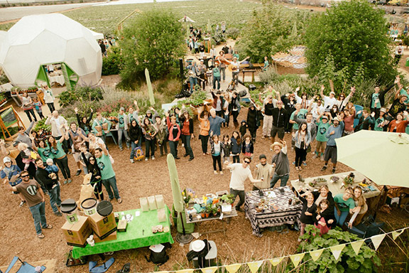 On April 5th The Ecology Center will host its 6th annual We Are Earth Day festival with free food, music, crafts and more. Seen here: We Are Earth Day 2013.