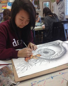 Melody Lee of Orange County School of the Arts