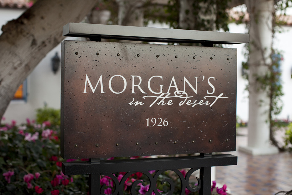 Morgans in the Desert offers fine dining on property.