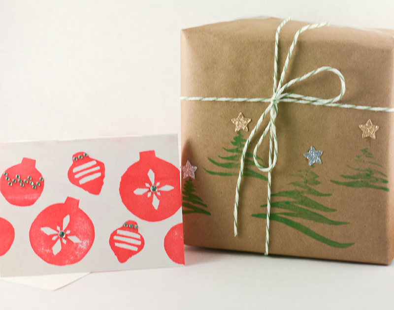 Holiday roller stamps by enliu
