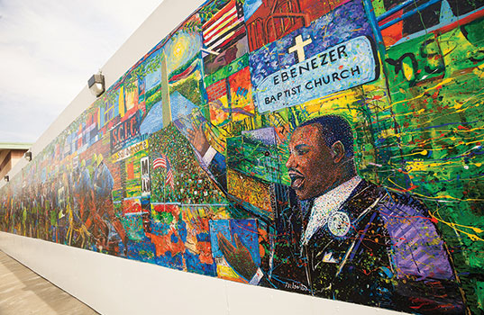 MLK- Ebenezer Baptist Church Mural