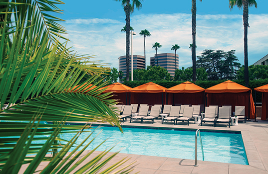 Hotel irvine where modern sophistication family friendly - Menzies hotel irvine swimming pool ...