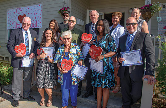 Community Service Programs recognized honorees for their notable involvement and support of the CSP Huntington Beach Youth Shelter during the shelter's 10-year anniversary reception on Tuesday, June 7 at the Community Service Programs' Huntington Beach Youth Shelter.